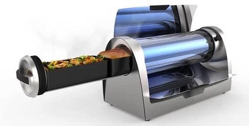 太陽能烤肉爐外觀。圖片來源:GoSun