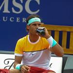 Partit de vuitens de final Nicolas Almagro vs Rafael Nadal