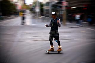 Coffee, Cigarette, Skateboard and Uggs