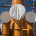 Intakes - HMS Warrior (025) by Malcolm Bull