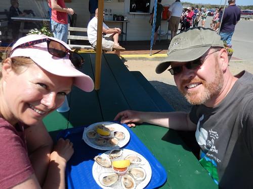 Cape Cod - Wellfleet oysters