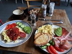 Beautiful breakfasts at Villa D'aversa in Bro…