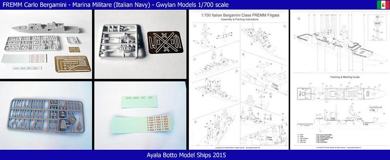 FREMM Carlo Bergamini F590 Frégate - Gwylan Models 1/700 18210953589_ba78478500_c