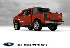 Ford Ranger P375-2015 Wildtrack Pickup