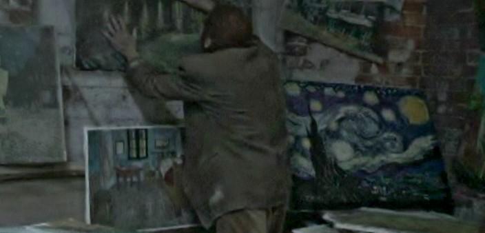 Nightmares of paintings destroyed film eyes van gogh Alexander Barnett
