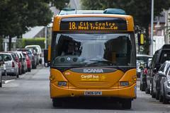 Cardiff Bus Scania