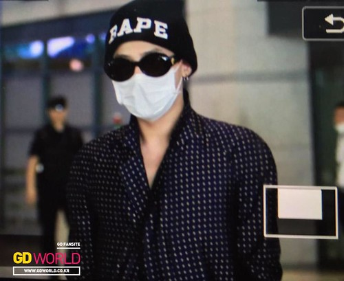G-Dragon Arrival Seoul from Paris 2015-07-09 019