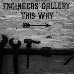 Writing in the wall. Engine rooms, Tower Bridge. #London #engines #bridges