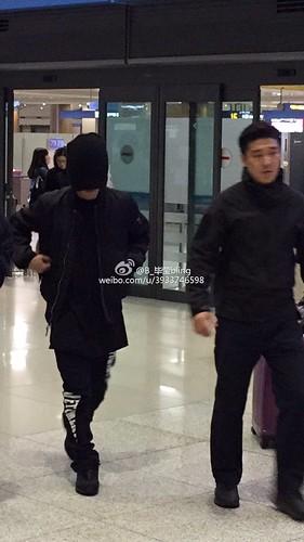 BIGBANG arrival Seoul 2015-10-26 weibo (3)