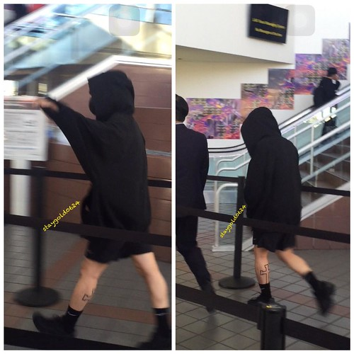 Big Bang - Los Angeles Airport - 06oct2015 - StayGold0624 - 07