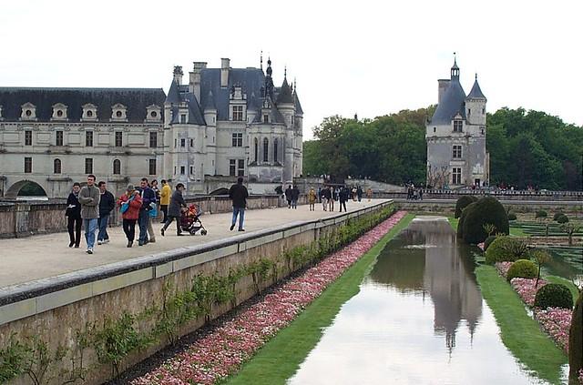 Castillo de Chenonceau - viaje a los castillos de loira