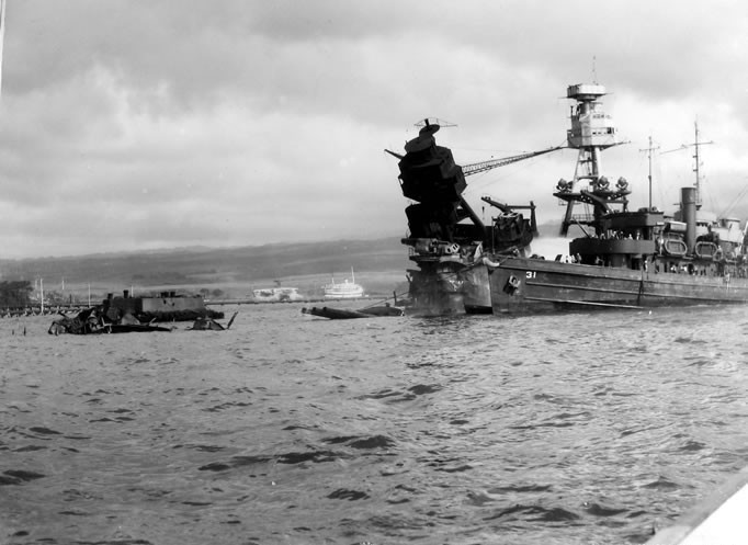 USS Arizona Battleship Pearl Harbor BB-39