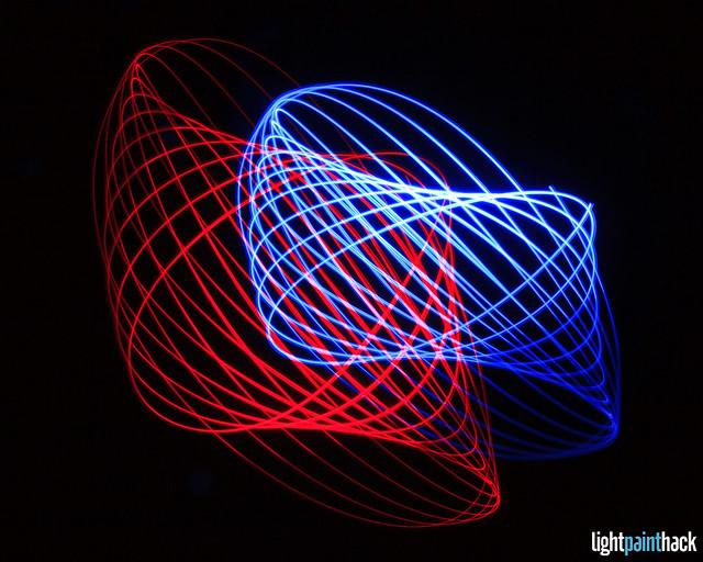 Light Painting Physiogram (EXPLORED)
