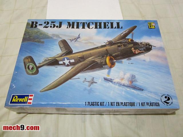 1/48 Revell B-25J Mitchell