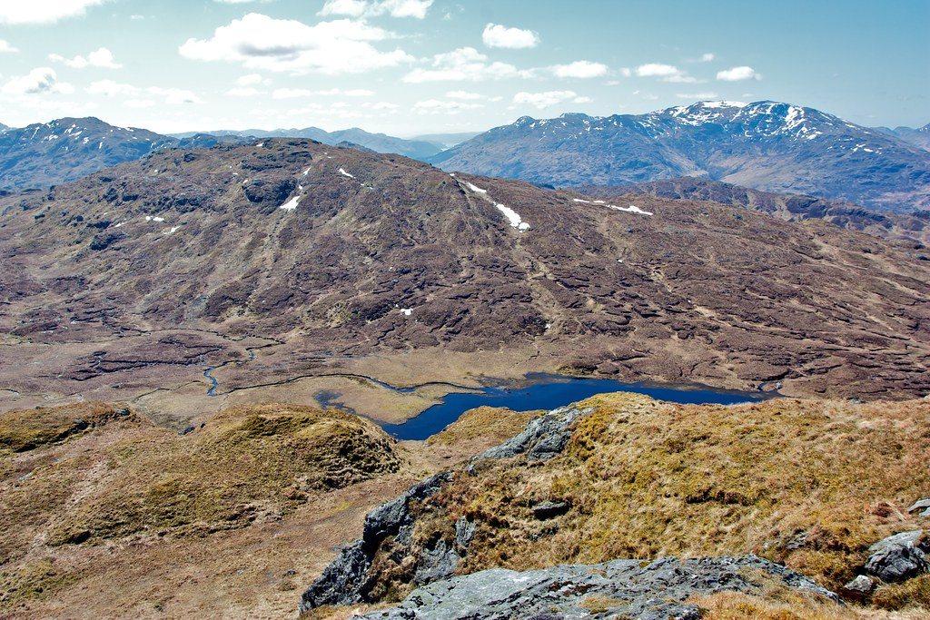 Parlan Hill, Loch Long and Ben Vorlich