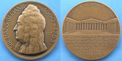Sloan Bicentennial medal