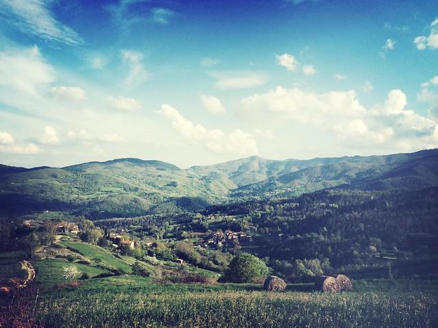 Casentino landscape