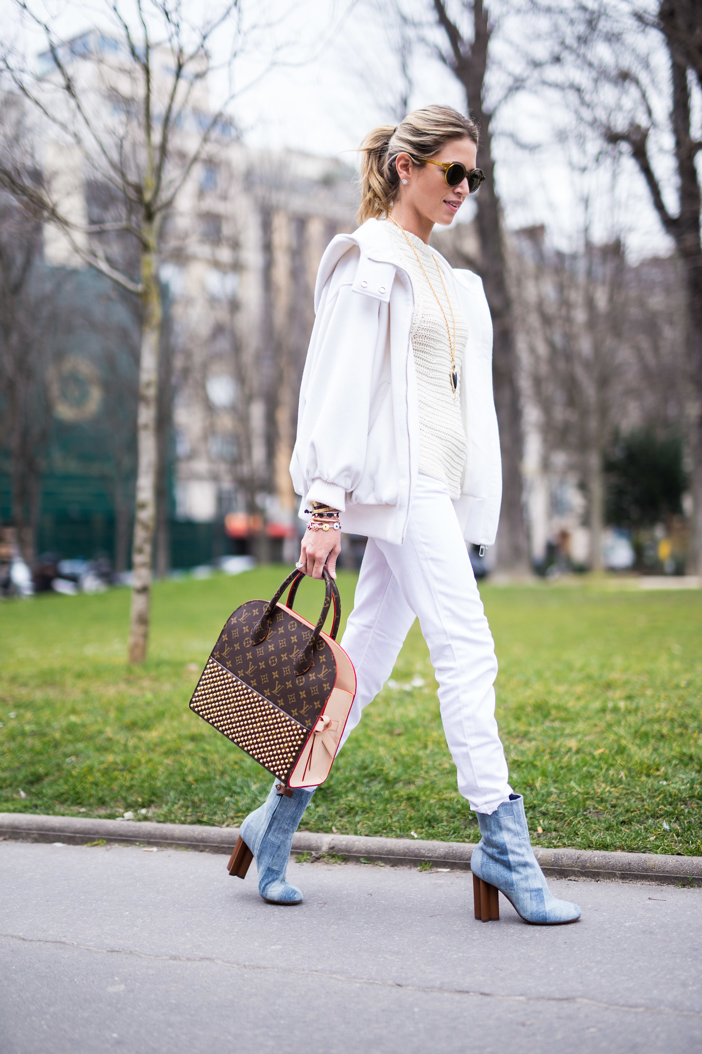 Street Style - Helena Bordon, Paris Fashion Week