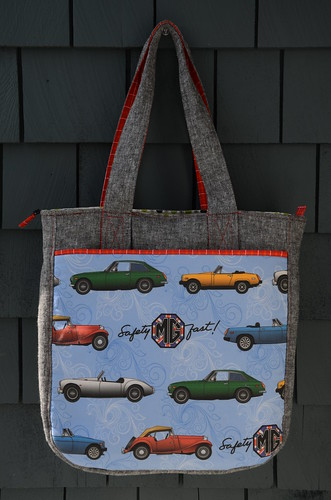 MG Supertote by Poppyprint