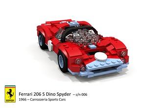 Ferrari 206 S Dino Spyder (Carrozzeria Sports Cars - 1966)