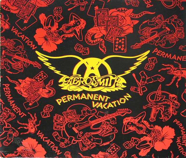 "Aerosmith Permanent Vacation 12"" Vinyl LP"