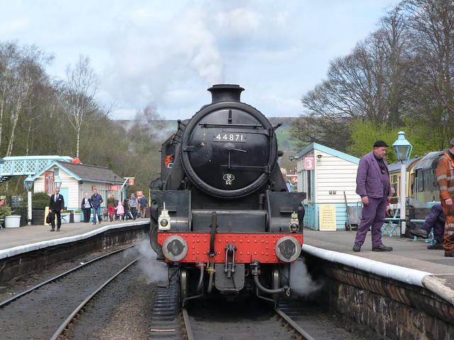 Tren de North Yorkshire Moors Railway