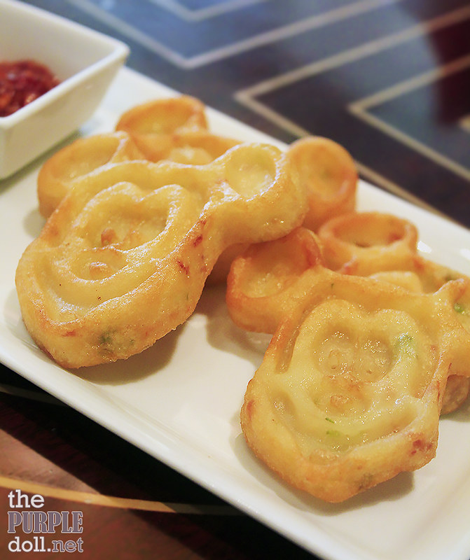 Mickey's Seafood Glutinous Pancake (HKD 72)