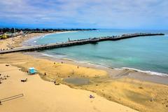 Santa Cruz Wharf and Beach - Santa Cruz CA