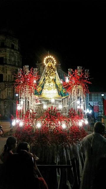 sta. rita marian procession 2015