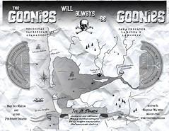goonies map front