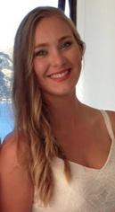 Maggie Fea representing the Otago Irish Society.