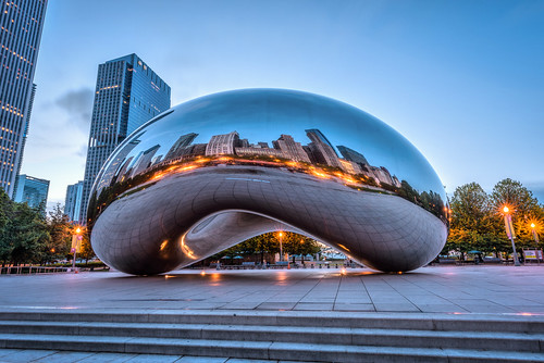 The Bean in Blue by Geoff Livingston
