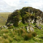 One outcrop of Tavy Cleave Tors