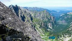 Kacza Dolina z grani Batyżowieckiego