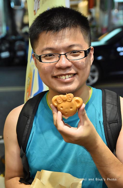 台中小熊燒紅豆餅漸層飲料09