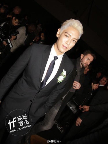 TOP - Dior Homme Fashion Show - 23jan2016 - IF时尚 - 02