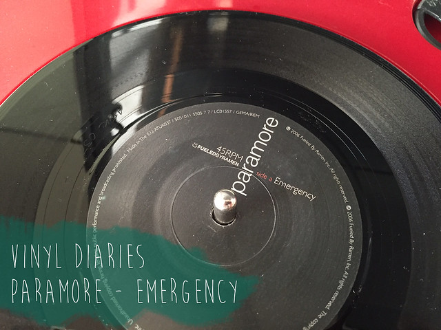 Paramore Emergency vinyl side a