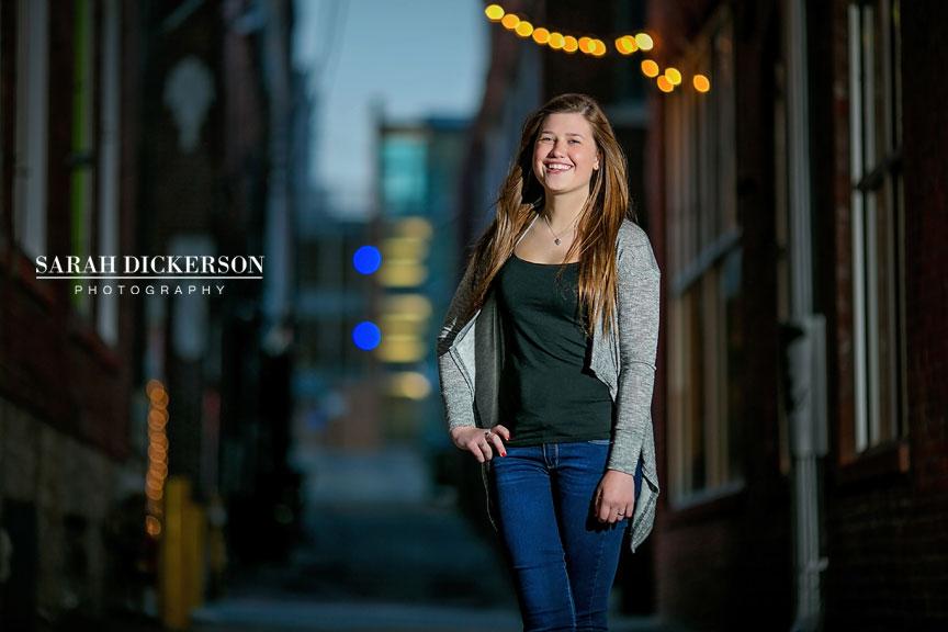 Kansas City senior portrait session