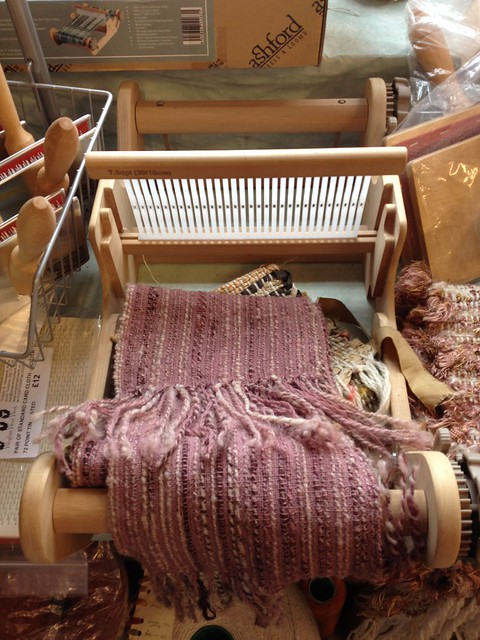 Weaving Loom at Winghams