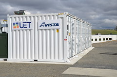 Avista's new energy storage system