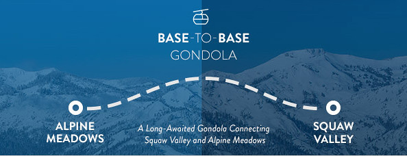 Base to Base gondola Squaw/Alpine
