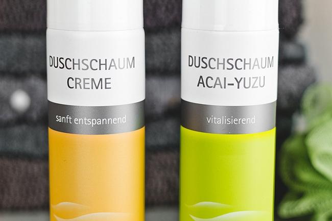 Test spitzner Duschschaum, Duschschaum Creme, Duschschaum Acai-Yuzu