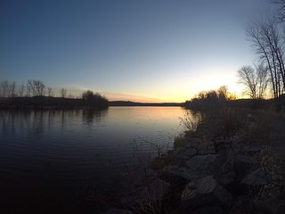 The GoPro's version of the sunset | Gary-New Duluth, MN