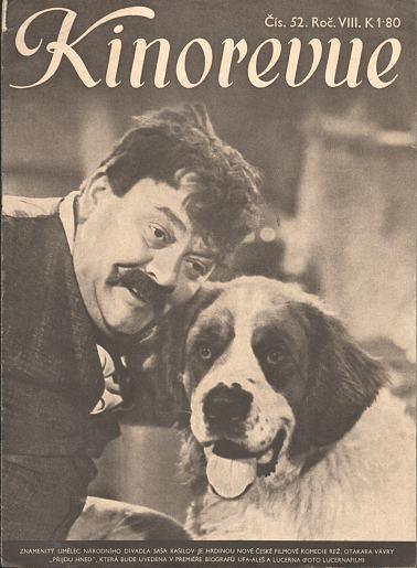 Časopis Kinorevue 1941-42 č. 52, Saša Rašilov