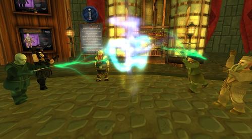 Magical Dwarfins