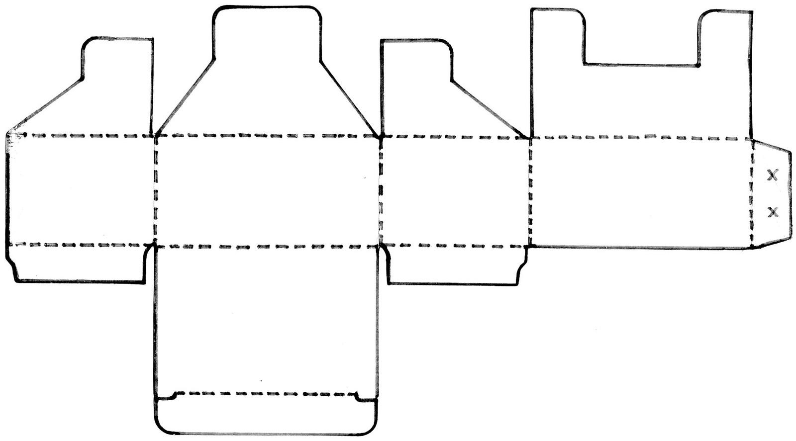 Suficiente Caixinha de papel para miudezas (com molde) | SuperZiper EJ34