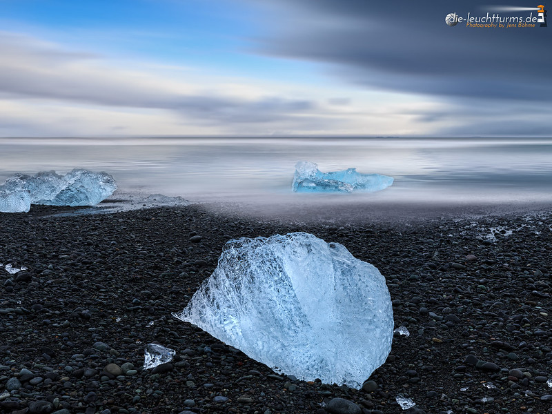 Ice at the shore of Iceland