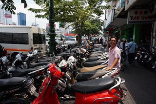Scooters rule in Vietname