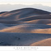 Dunes and Mountains, Evening Shadows by G Dan Mitchell