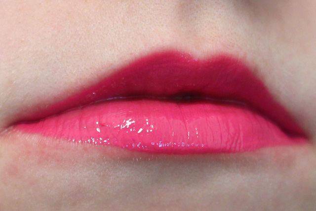 Nyx Intense Butter Gloss Lip Swatch in Funnel Delight